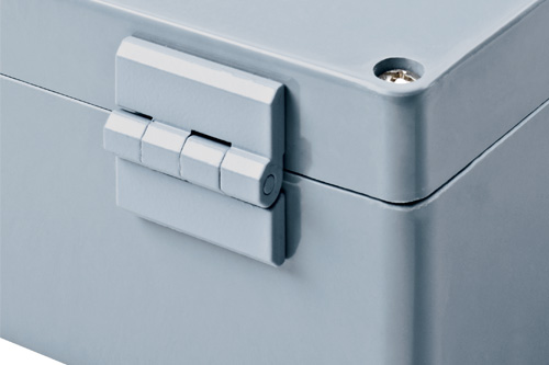 Hinge for polyKOM enclosures