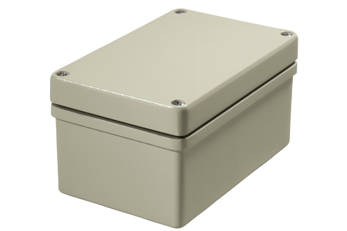 EMC conformant enclosure made of aluminium