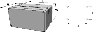 conFORM Enclosures Dimensions