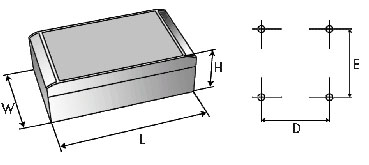 aluCASE Enclosures Dimensions