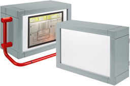 multiVISION IP65 display enclosures range