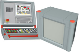 multiVISION IP65 command and machine controller enclosures
