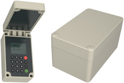 polyDOOR IP66 GRP hinged lid polyester electronic enclosures range