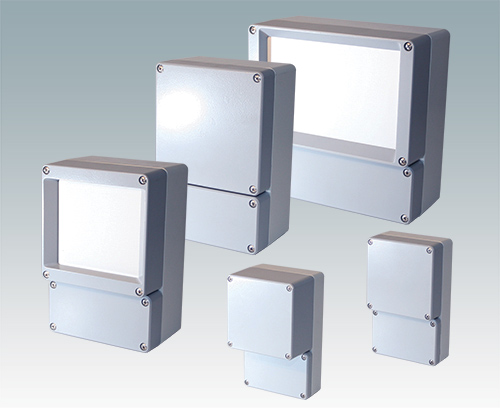 Dual aluTWIN enclosures